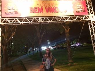 Entrada do Food Tour, festival na Pedra da Cebola