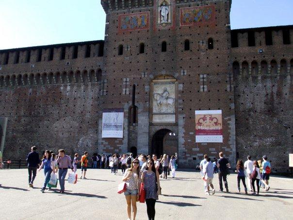 Castelo em Milão