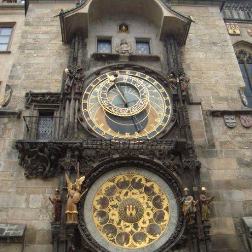 Famoso relógio astronômico