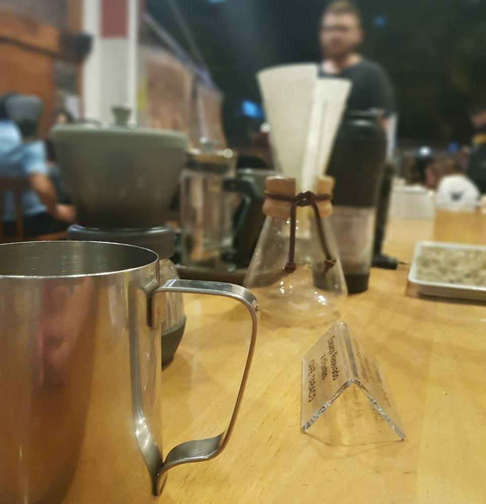 Métodos filtrados de café