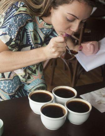 Prova de café no Colher de Pau